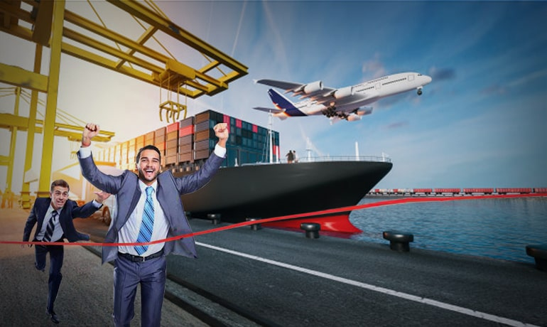 CONQUER THE COMPETITION IN LOGISTICS